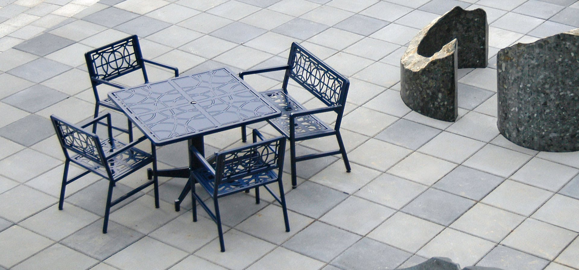 Terrace Collection - Filigree Pattern Table