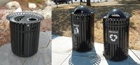Plaza Collection Receptacles