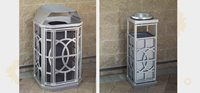 Terrace Collection - Filigree Pattern Receptacles