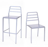Host Stool and Chair