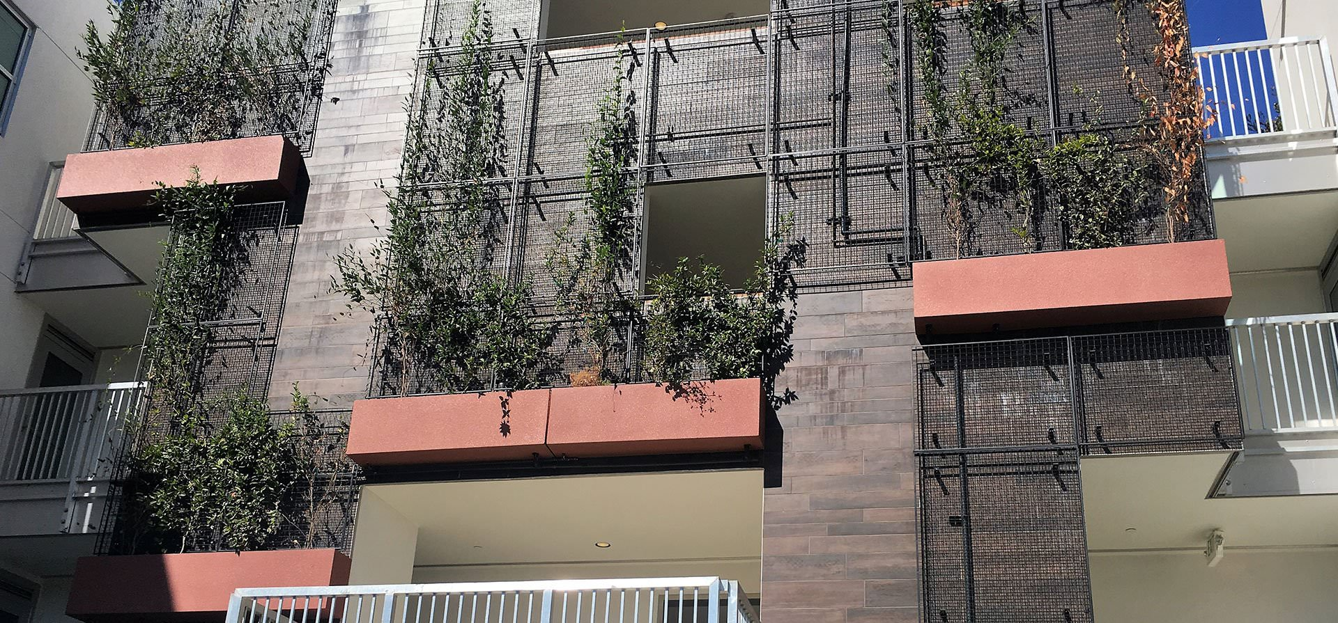 Wilshire Box Hanging Planters