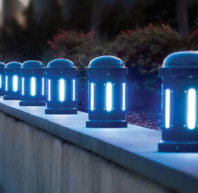 LED Accent Bollards - Round